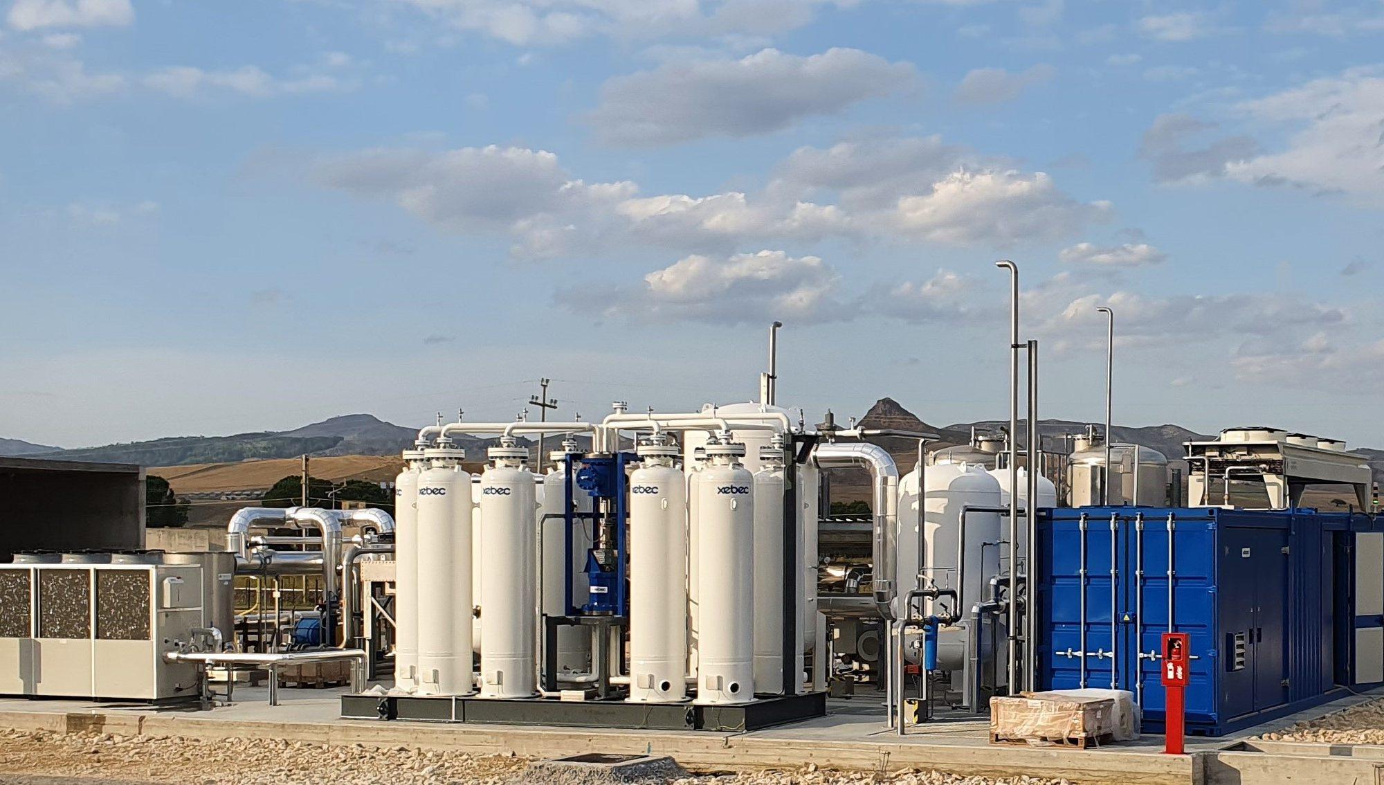Biometano, in partenza il primo impianto di upgrading fornito da Sapio