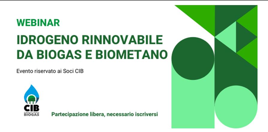 Idrogeno rinnovabile da biogas e biometano