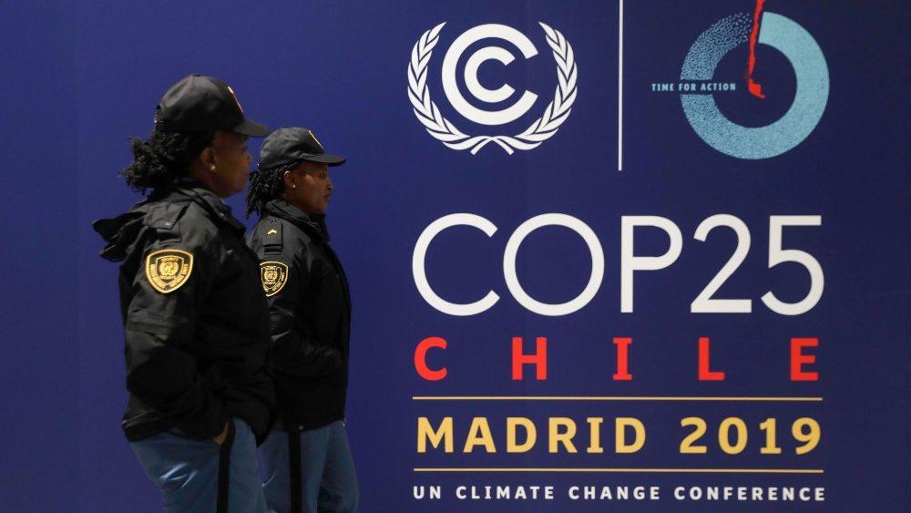 COP25 a Madrid, conferenza Onu sul clima ed i cambiamenti climatici