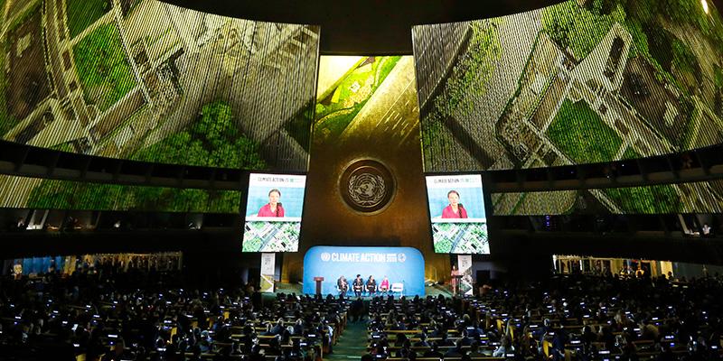 Summit ONU sul clima, 66 paesi per emissioni Ø nel 2050